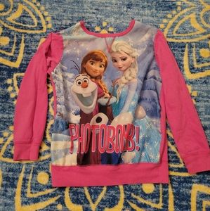 5/$10 Frozen 7/8 Medium Top Disney Elsa Anna Olaf
